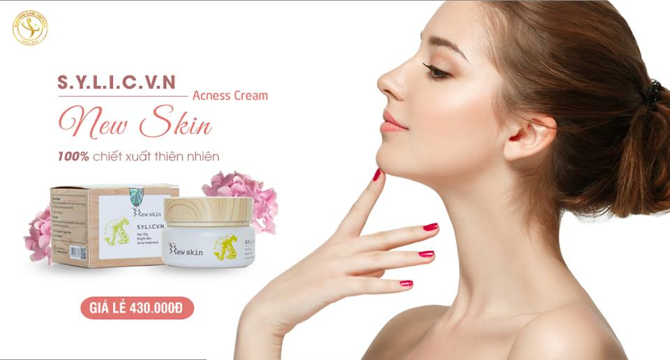 New skin S.Y.L.I.C.V.N - sản phẩm hỗ trợ điều trị mụn hiệu quả dành cho bạn